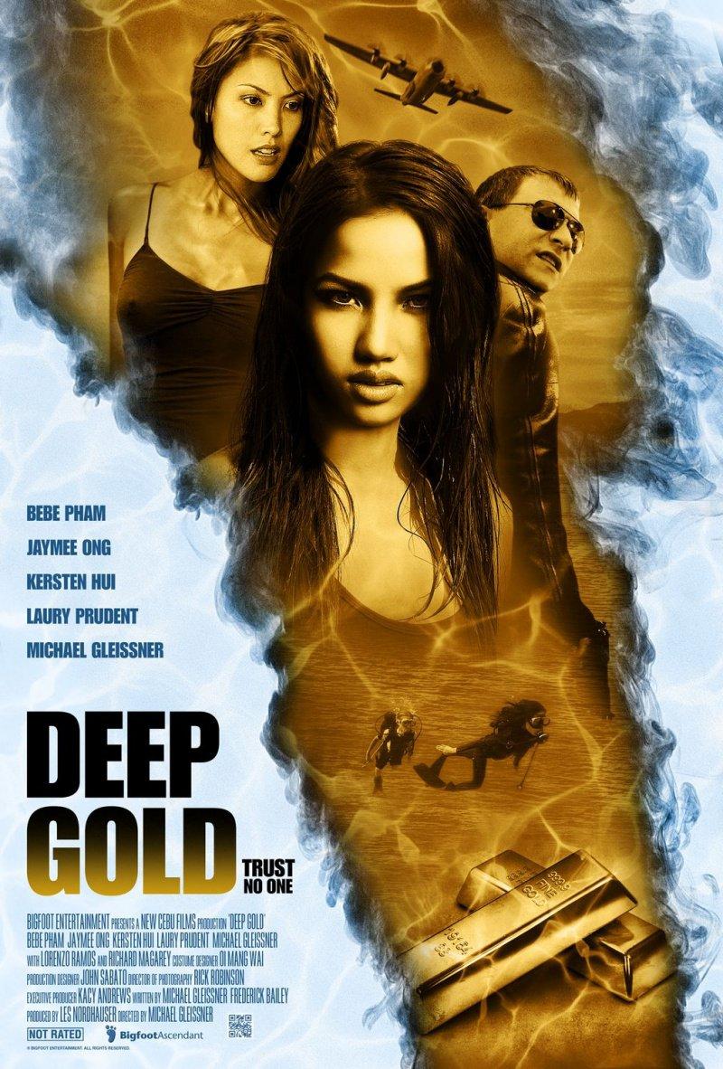 Постер ?3 к фильму Глубокое золото (Deep Gold) .