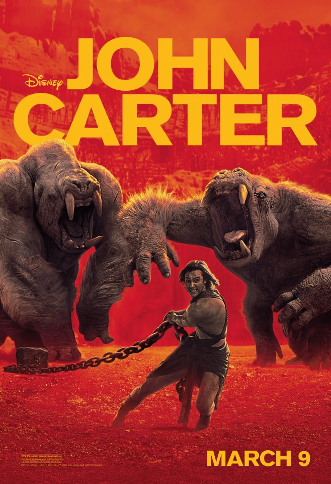 Картер все постеры джон картер назад 24