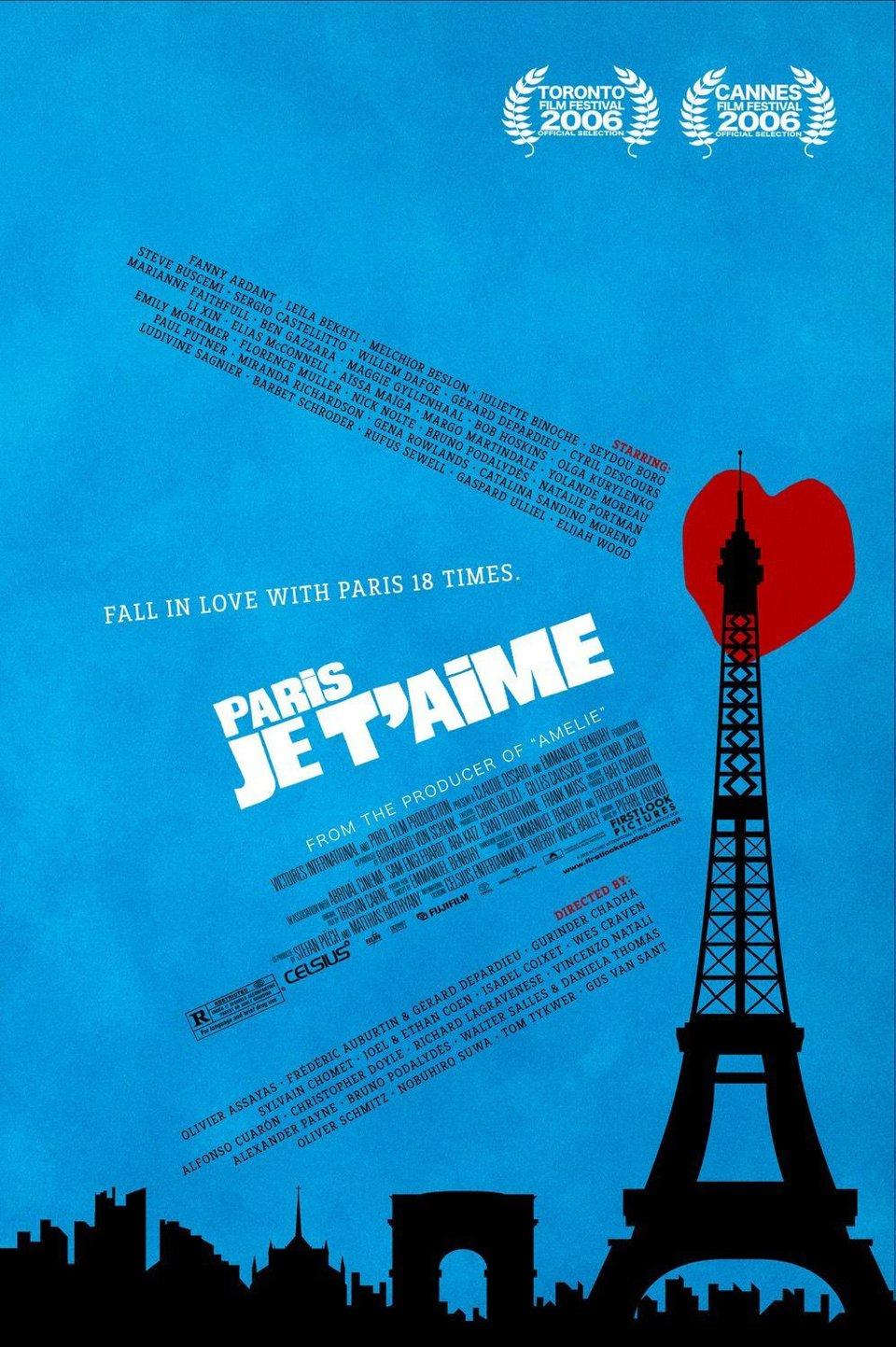 Все постеры париж я люблю тебя