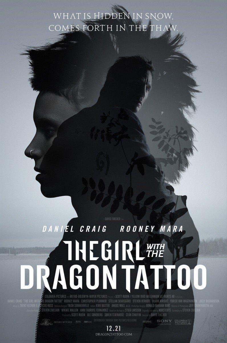 Девушка с татуировкой 2011