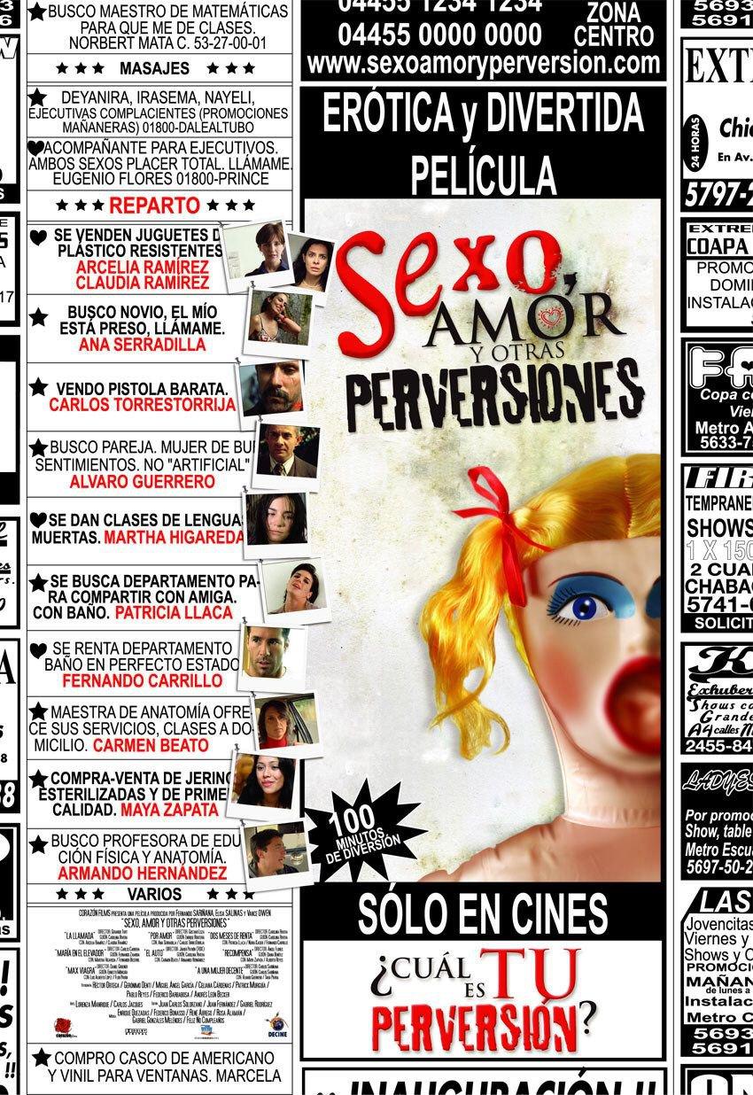Все постеры Секс, любовь и другие извращения. Марта Игареда. Pilar