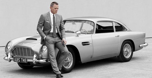 Авто 007: лучшие машины Джеймса Бонда