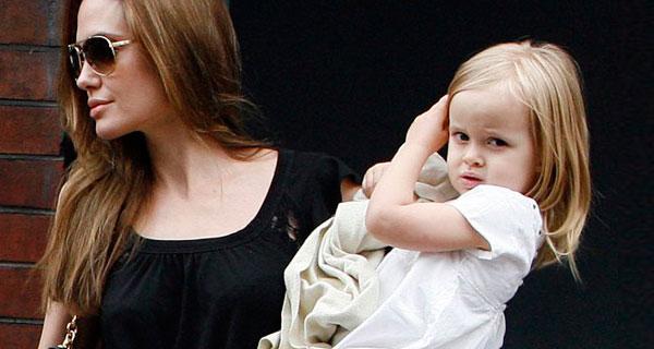 Анджелина джоли и вивьен маршелин